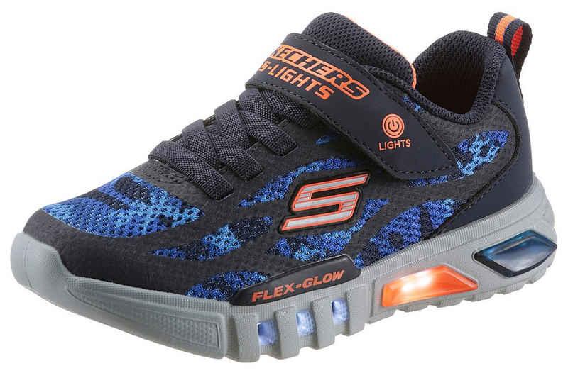 Skechers Kids »Blinkschuh FLEX-GLOW RONDLER« Sneaker mit cooler Blinkfunktion
