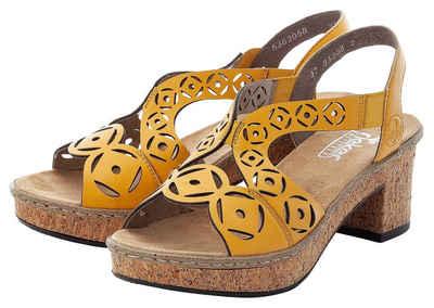 Rieker Sandalette mit modischer Musterung