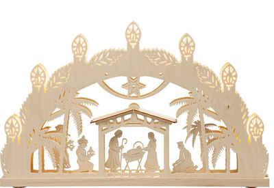 Weigla LED Schwibbogen »Bethlehem« (1-tlg), 7-flammig