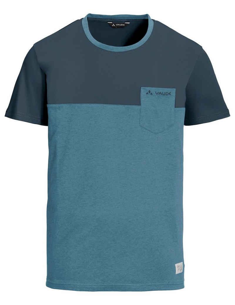 VAUDE T-Shirt »Men's Nevis Shirt III« (1-tlg) Grüner Knopf