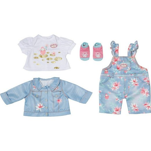 Zapf Creation® Puppenkleidung »Baby Annabell® Active Deluxe Jeans 43 cm«