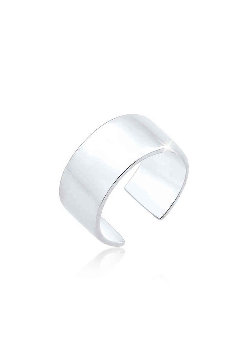 Elli Ohrklemme »Basic Single Earcuff Trend 925 Sterling Silber«, Basic Ohrstecker