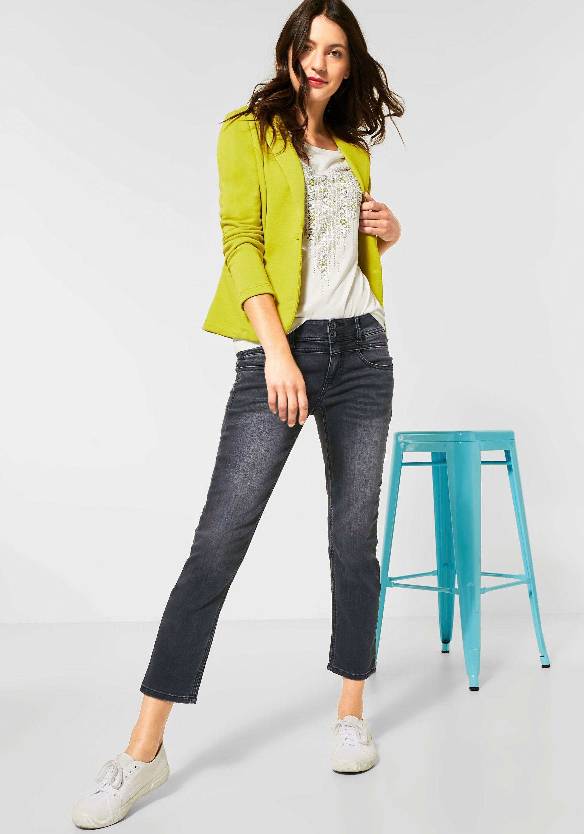 Street One 7/8-jeans Tilly Mit Geraden Beinen