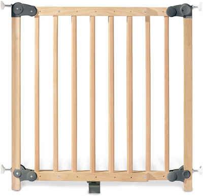 Pinolino® Türschutzgitter »Baby Lock Premium, klar lackiert«, aus Massivholz