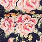 larissastoffe Stoff »Jersey Stoff Blumen Rosen, Swafing Jonne dunkelbla«, Stoffe zum Nähen, Meterware, 50 cm x volle Breite, Bild 2