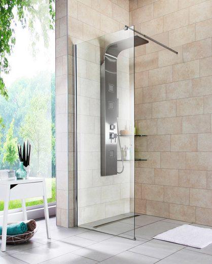 WELLTIME Walk-In Dusche »Duschabtrennung«, Breite 80 cm