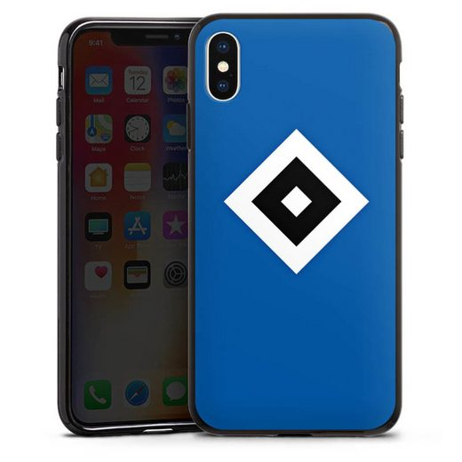 DeinDesign Handyhülle »HSV Blau« Apple iPhone Xs Max, Hülle Hamburger SV Logo HSV