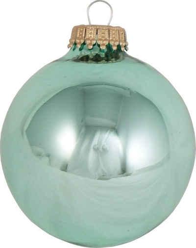 Krebs Glas Lauscha Weihnachtsbaumkugel »CBK60007« (8 Stück)