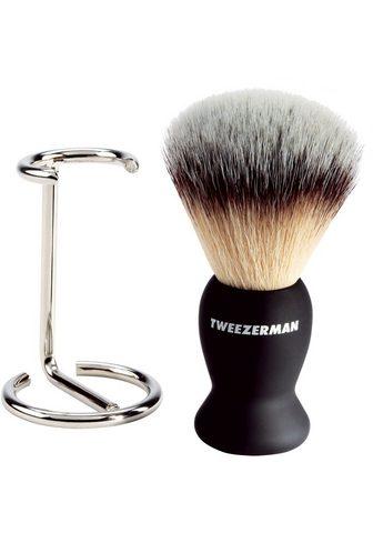 TWEEZERMAN Rasierpinsel-Set »GEAR Shave Brush and...