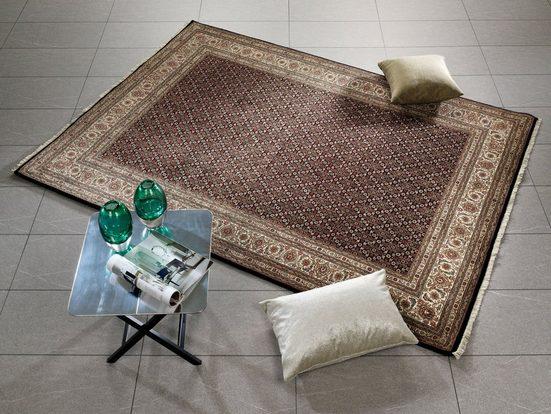 Orientteppich »Cavari Herati«, OCI DIE TEPPICHMARKE, rechteckig, Höhe 4 mm, handgeknüpft, mit Fransen, Wohnzimmer
