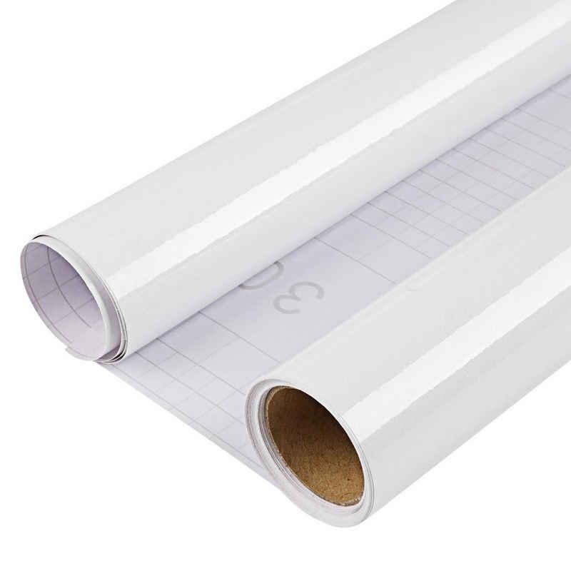 DTC GmbH Vinyltapete »6m x 60cm PVC selbstklebende Tapete mit Schaber«, Funkeln, uni, (1 St), Wasserfest, für Küchen, Schränke, Fensterbänken, Wände, Türen, Möbel, Schlafzimmer, Wohnzimmer, Hintergrund Deko