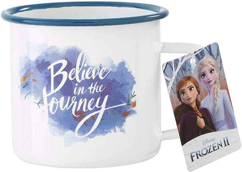 Funko Tasse »Funko Pop! Home - Frozen 2 - Die Eiskönigin 2 - Metall Tasse - Believe in the Journey«, Metall
