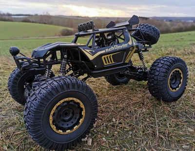BruKa RC-Monstertruck »RC Allrad Rock Crawler PANTHER XXL 50cm Ferngesteuertes Auto Monster Truck«