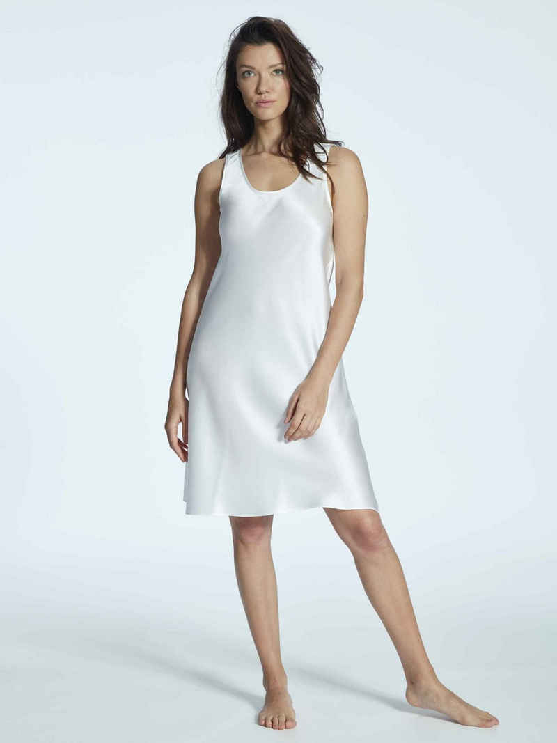 Eva B.Bitzer Nachthemd »Seiden-Nachtkleid, Länge 94cm« (1-tlg)