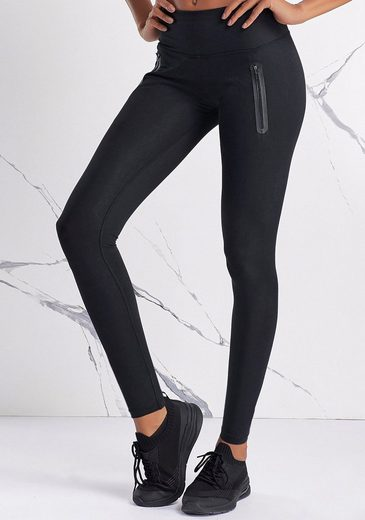 LASCANA ACTIVE Leggings mit Reißverschlusstaschen