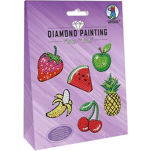 "URSUS Sticker »Diamond Painting Sticker ""Unicorn"" Mot:01«"
