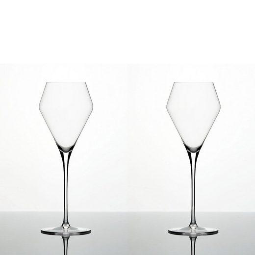Zalto Weinglas »Denk´Art Süßweinglas Mundgeblasen 2er Set« (2-tlg), Glas