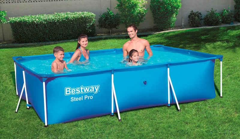 Bestway Framepool »Steel Pro™«, BxLxH: 201x300x66 cm