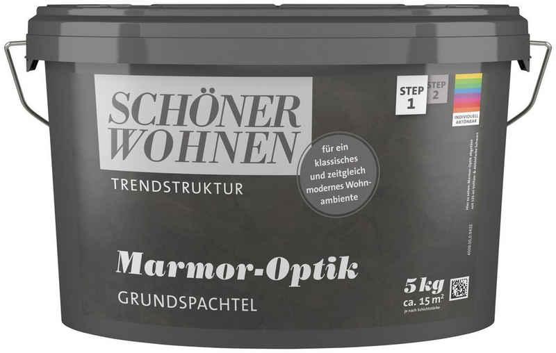 SCHÖNER WOHNEN-Kollektion Spachtelmasse »Marmor-Optik Grundspachtel«, 5 kg, abtönbar
