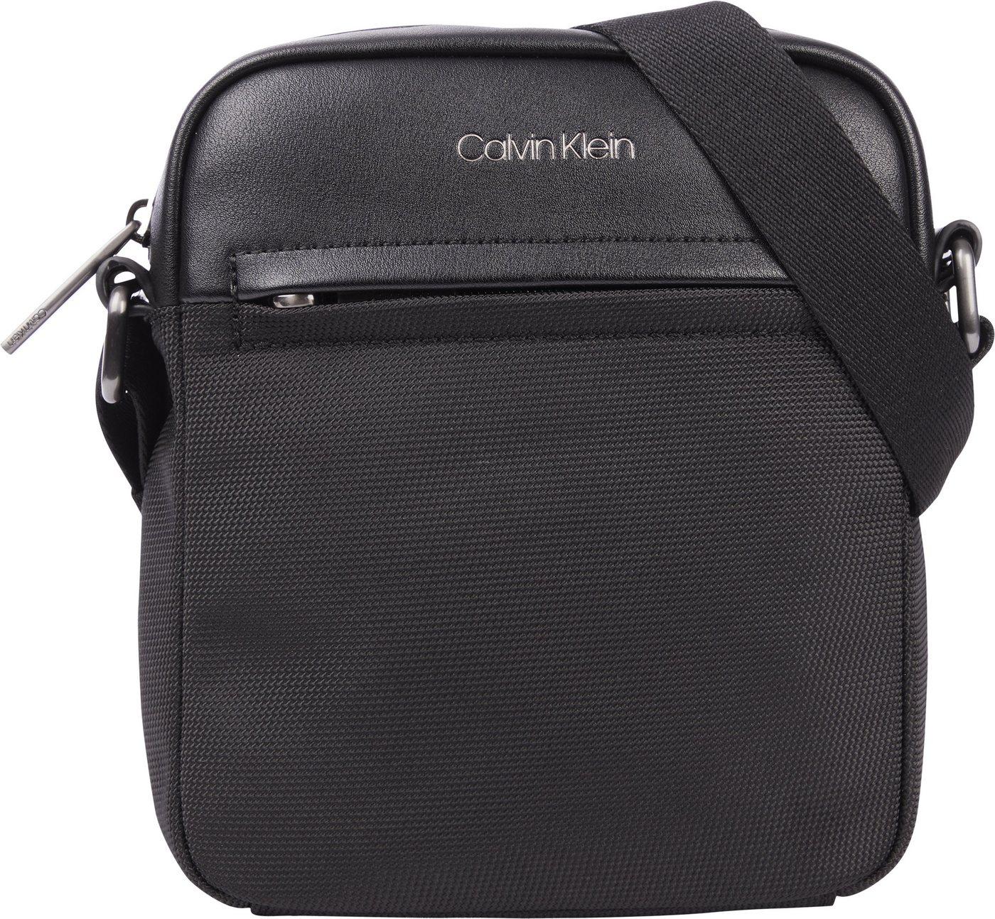 calvin klein -  Umhängetasche »REPORTER S«, mit Reißverschluss-Vortasche