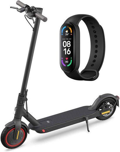 Xiaomi E-Scooter »Mi Electric Scooter Pro 2«, 600 W, 20 km/h, 8,5 Zoll Reifen, 45km Reichweite & Mi Smart Band 6 Smartwatch«, 600 W W, 20,00 km/h, 8,5 Zoll Reifen, 45km Reichweite, App