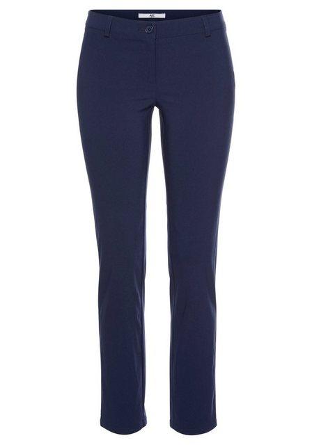 Hosen - AJC Stretch Hose aus pflegeleichter Bengalin Qualität in schmaler Form › blau  - Onlineshop OTTO