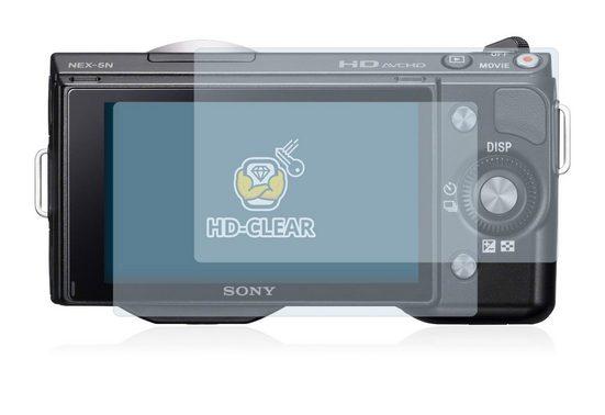 BROTECT Schutzfolie »für Sony Alpha NEX-5N«, (2 Stück), Folie Schutzfolie klar