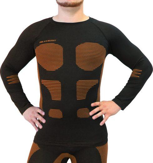 Polar Husky Funktionsunterhemd »Sport-Funktionsunterhemd Anatomic Functional Wear«, schnelltrocknend