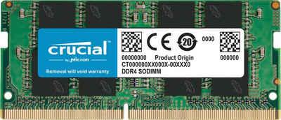 Crucial »8GB DDR4-3200 SODIMM« Laptop-Arbeitsspeicher