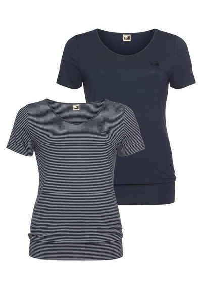 Ocean Sportswear T-Shirt »Nachhaltige LENZING™ ECOVERO™ Viskose« (2er-Pack) in großen Größen