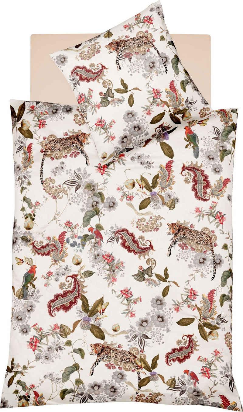 Wendebettwäsche »Bed Art S 4132«, fleuresse, mit Leoparden