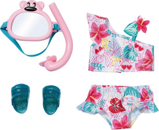 Zapf Creation® Puppenkleidung »BABY born Holiday Deluxe Bikini Set 43 cm«