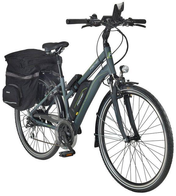 FISCHER FAHRRAEDER E-Bike Trekking Damen »ETD1806«, 28 Zoll, 24 Gang, Heckmotor, 422 Wh*