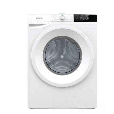 GORENJE Waschmaschine WE843P, 8 kg, 1600 U/min, WaveActive Trommel, LED Display, Startzeitvorwahl, AquaStop