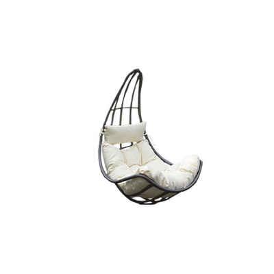 HOME DELUXE Hängesessel »Polyrattan Hängesessel CAMA - Nur Korb« (Set, 2-St., Korb und Kissen), inklusive Sitz-, Seiten- und Rückenkissen