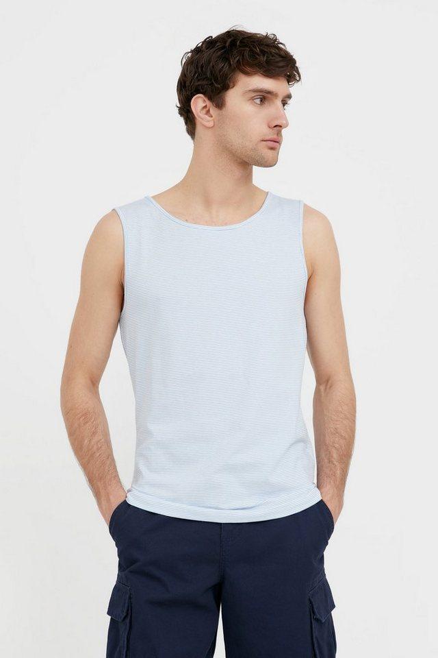 finn flare -  T-Shirt mit Streifendesign für Herren