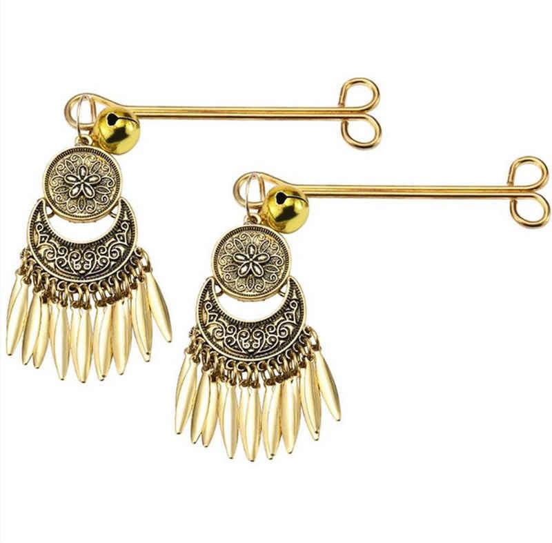 Sandritas Nippelklemmen »Goldene Nippelklemmen mit Glöckchen«