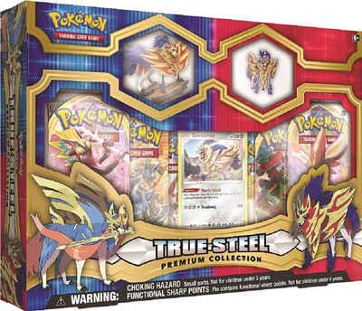 POKÉMON Sammelkarte »Pokémon Karten TCG: True Steel Premium Collection Zamazenta«