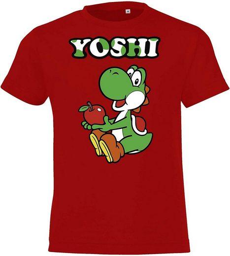 TRVPPY T-Shirt »Kinder Baby T-Shirt Yoshi in allen Größen und Farben«
