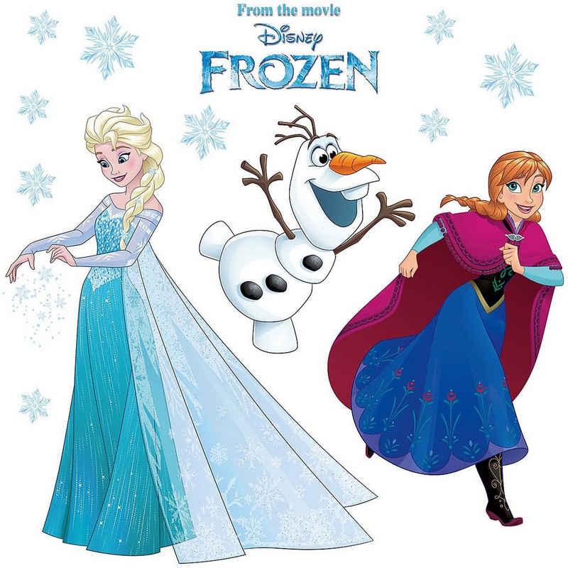 Fenstersticker »Fenstersticker Disney Frozen Snowflake, 26-tlg.«, Komar