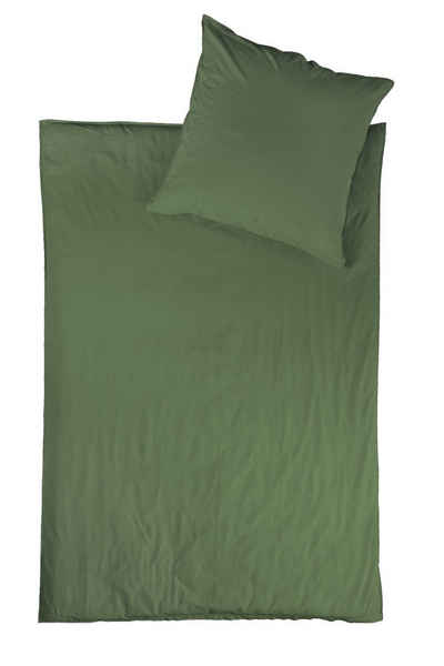 Bettwäsche, jilda-tex, unifarben, stonewashed und in vielen Farben