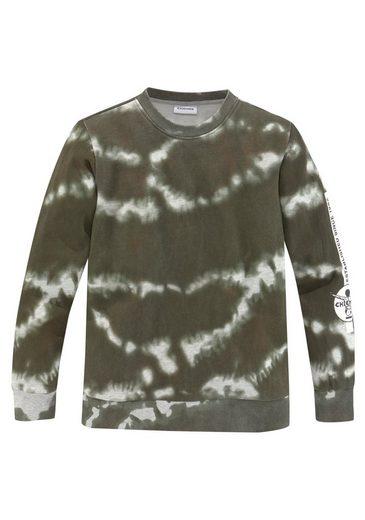 Chiemsee Sweatshirt »in Batikoptik«
