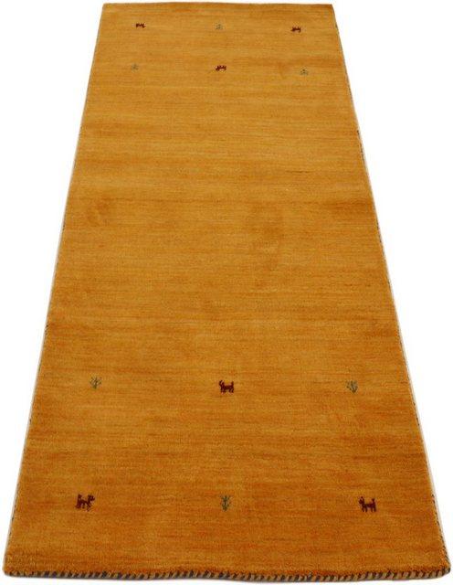 Läufer »Gabbeh Uni«| carpetfine| rechteckig| Höhe 15 mm| handgewebt | Heimtextilien > Teppiche > Läufer | carpetfine