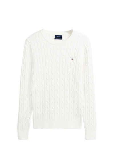 Gant Strickpullover »Zopfstrick-Pullover«