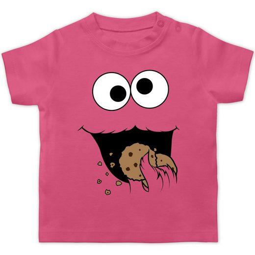 Shirtracer T-Shirt »Keks-Monster - Baby T-Shirt kurzarm«