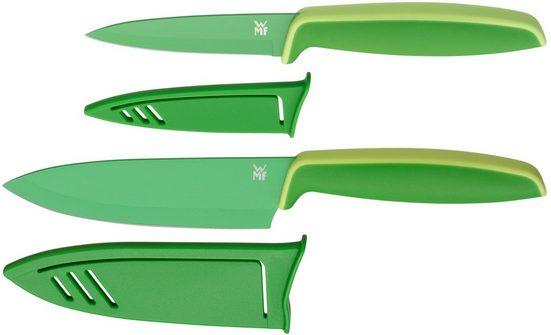 WMF Messer-Set »Touch« (Set, 2-tlg), mit passenden Schutzhüllen