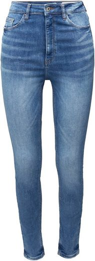 edc by Esprit Skinny-fit-Jeans aus weichem Super-Stretch Denim