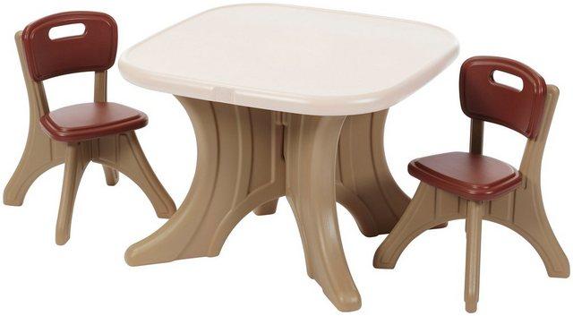 Sitzmöbel - STEP2 Kindersitzgruppe »New Traditions«, BxLxH 69x69x50 cm  - Onlineshop OTTO