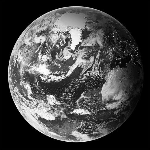 HTI-Line Kunstdruck »Bild Erde«, Wandbild