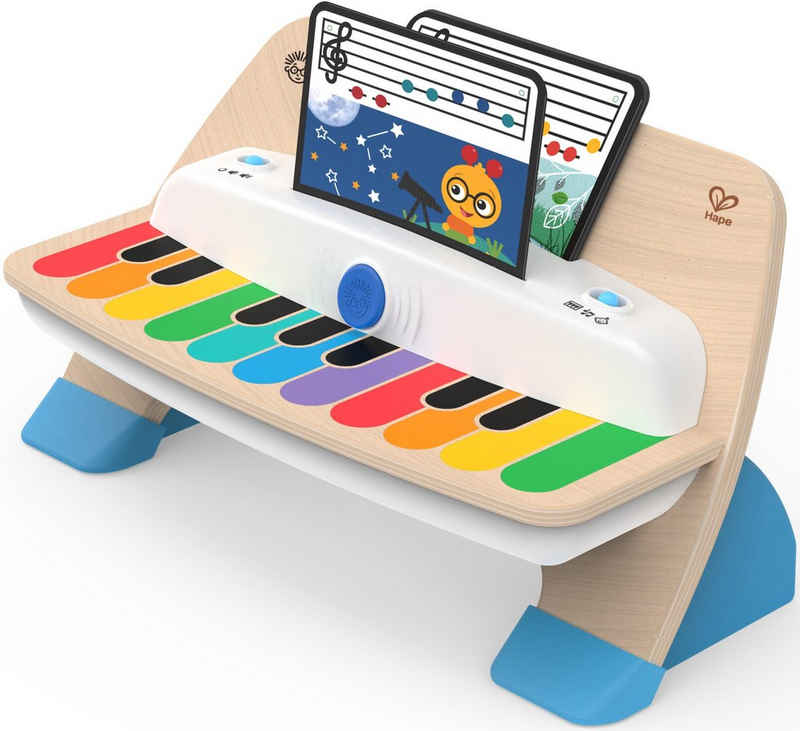 Hape Spielzeug-Musikinstrument »Magic Touch™ Deluxe Piano«, mit interaktiver Elektronik-Tastatur